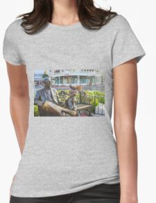 Roy and Minnie Womens Fitted T-Shirt