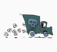 skull truck Kids Tee