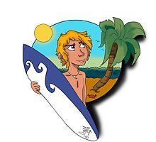 Surfboard by Artgel