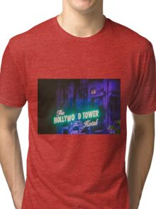 The Hollywood Tower Hotel Tri-blend T-Shirt