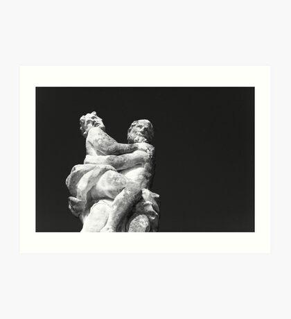Europa and Zeus Art Print