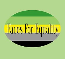 Faces for Equality: Aromantic by Faces4Equality