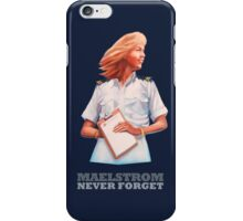 EPCOT Norway Pavilion MAELSTROM NEVER FORGET - Retro Disney - Cruise Director iPhone Case/Skin