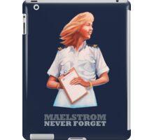 EPCOT Norway Pavilion MAELSTROM NEVER FORGET - Retro Disney - Cruise Director iPad Case/Skin