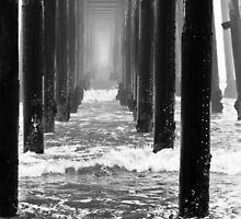 Oceanside California Pier in Fog by bengraham