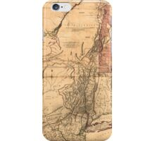 Provinces of New York and New Jersey (1768) iPhone Case/Skin