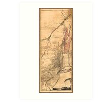 Provinces of New York and New Jersey (1768) Art Print