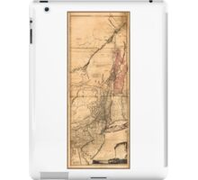 Provinces of New York and New Jersey (1768) iPad Case/Skin