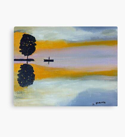 Alone  150725 Canvas Print