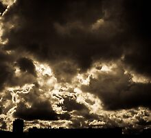 Urban sky by Holgerd