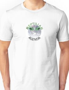The Reptilian Agenda Unisex T-Shirt