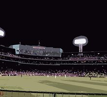 Sox at Fenway Cutout by TWCreation