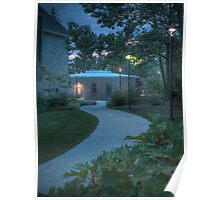 The Curved Sidewalk Poster