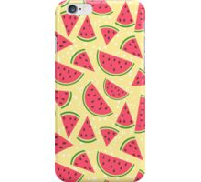 Watermelon slices pattern iPhone Case/Skin