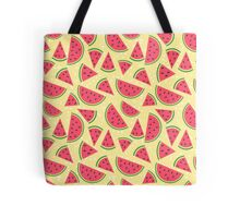 Watermelon slices pattern Tote Bag