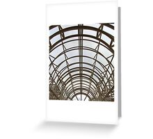 Umberella arch Greeting Card