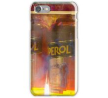 Apparel bottles in a shop window iPhone Case/Skin
