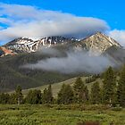 Sawtooth Mountains by Bob Vaughan