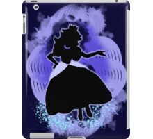 Super Smash Bros. Blue Peach Silhouette iPad Case/Skin