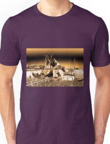 Dutch Fishing Trawler Unisex T-Shirt