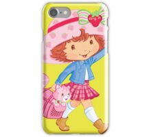 Little Girl and Kitten iPhone Case/Skin