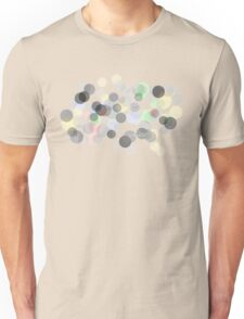 Colourful Bokeh spot Unisex T-Shirt