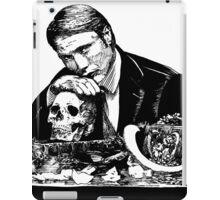 Eat the rude Hannibal iPad Case/Skin