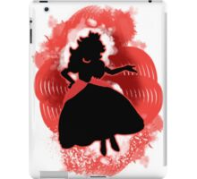 Super Smash Bros. Red Peach Silhouette iPad Case/Skin