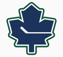 Leafs - Canucks Logo Mashup Kids Clothes