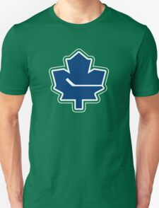 Leafs - Canucks Logo Mashup T-Shirt