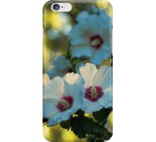 White Rose of Sharon iPhone Case/Skin
