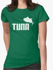 Tuna Ware Bluefin Fishing Sushi Funny Womens Fitted T-Shirt