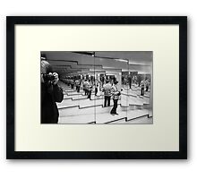 Photographing the photographer-pher-pher...... Framed Print