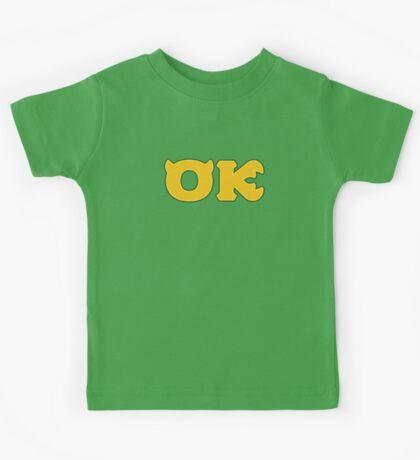 Oozma Kappa (Monsters U) Kids Tee