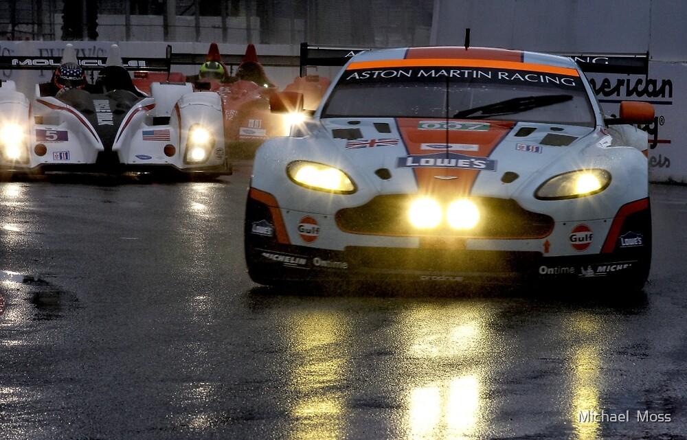 Race In The Rain by Michael  Moss