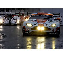 Race In The Rain Photographic Print