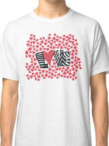 Freehand Sketch Love Letter Classic T-Shirt