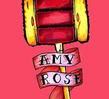 Amy Rose by papa-paparazzi