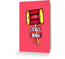 Amy Rose Greeting Card