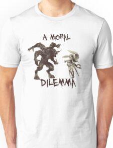 A Moral(ly Grey) Dilemma Unisex T-Shirt