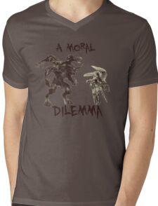 A Moral(ly Grey) Dilemma Mens V-Neck T-Shirt