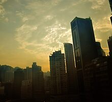 Sunset on a Rooftop / Yellow by channy