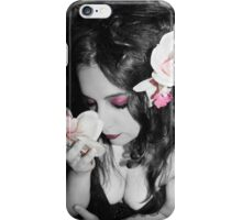 Just as the flower blooms I begin again iPhone Case/Skin