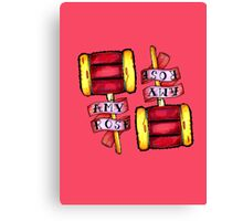 Amy Rose (v2) Canvas Print