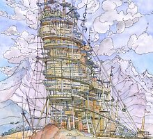 The Wind City!! by Luca Massone  disegni