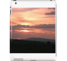 Strong red sunset - Donegal Ireland iPad Case/Skin