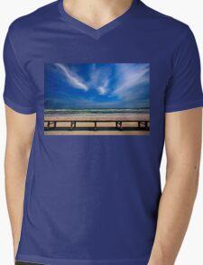 Keros beach - Lemnos island Mens V-Neck T-Shirt
