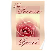 Someone Special Card Poster