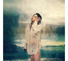 Rain storms Photographic Print