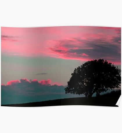 Under a red sky Poster